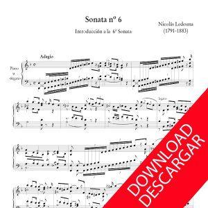 Sonata n 6 Nicolás Ledesma - Órgano