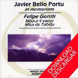 Felipe Gorriti Misa de Tafalla Javier Bello Portu