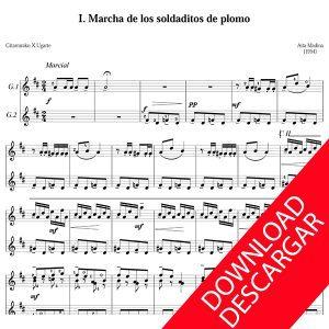 10 piezas infantiles para guitarra Aita Madina