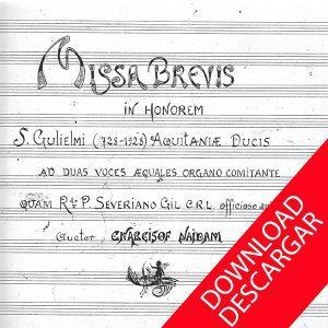 Missa Brevis a Dos Voces y Órgano - Aita Madina