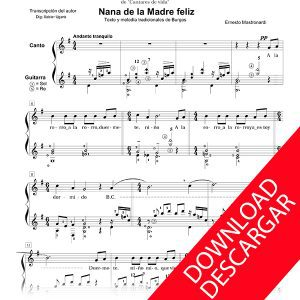 Nana de la Madre feliz - Cantares de Vida- Ernesto Mastronardi